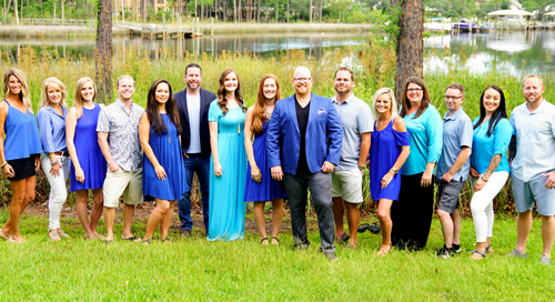 Nathan Abbott Team is the on-site dedicated sales team for The Preserve at Inlet Beach