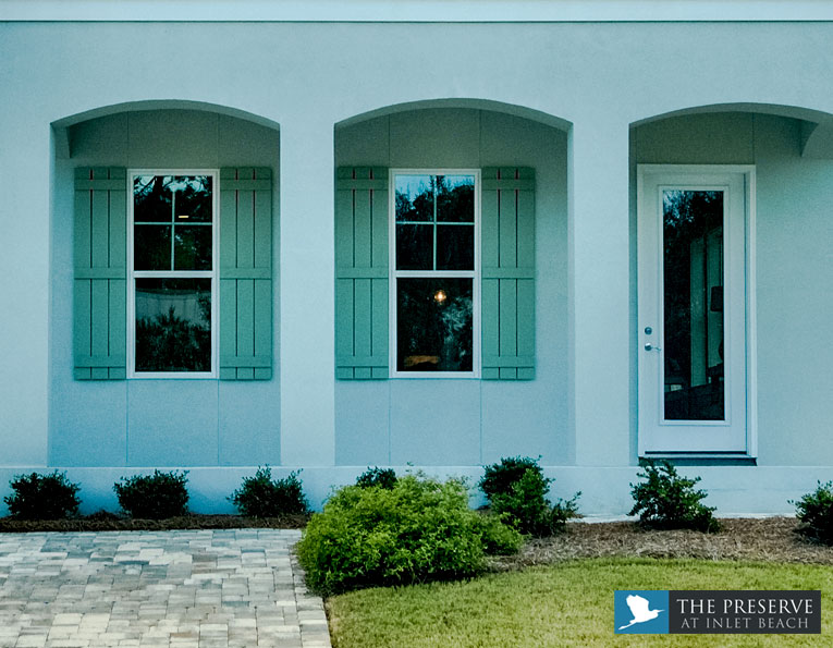 Preserve at Inlet Beach standard doors and windows